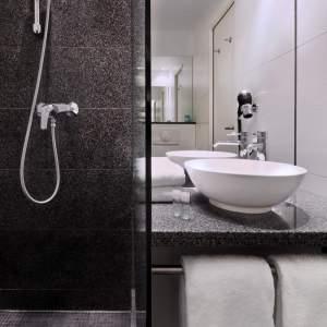 Hotel in het centrum van Munchen - badkamer